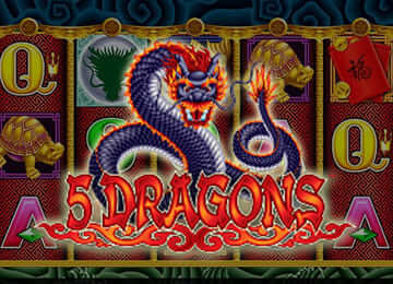 5 DRAGON SLOT MACHINE REVIEW
